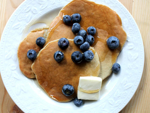 3-Ingredient Pancakes for 1