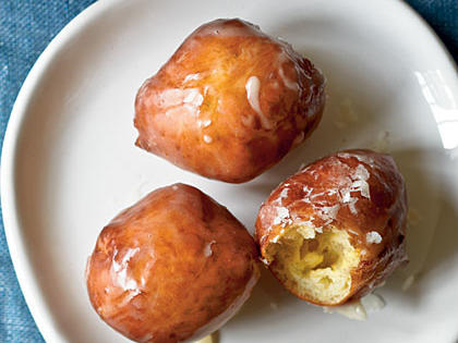 Maple Doughnut Holes