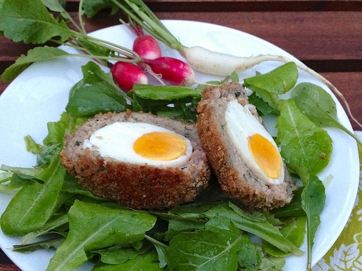 Lightened Up Scotch Egg