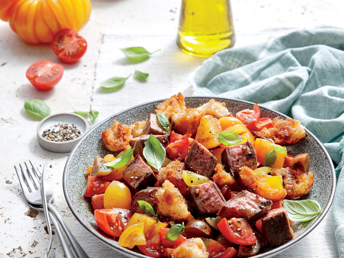 Friday: Steak and Tomato Panzanella