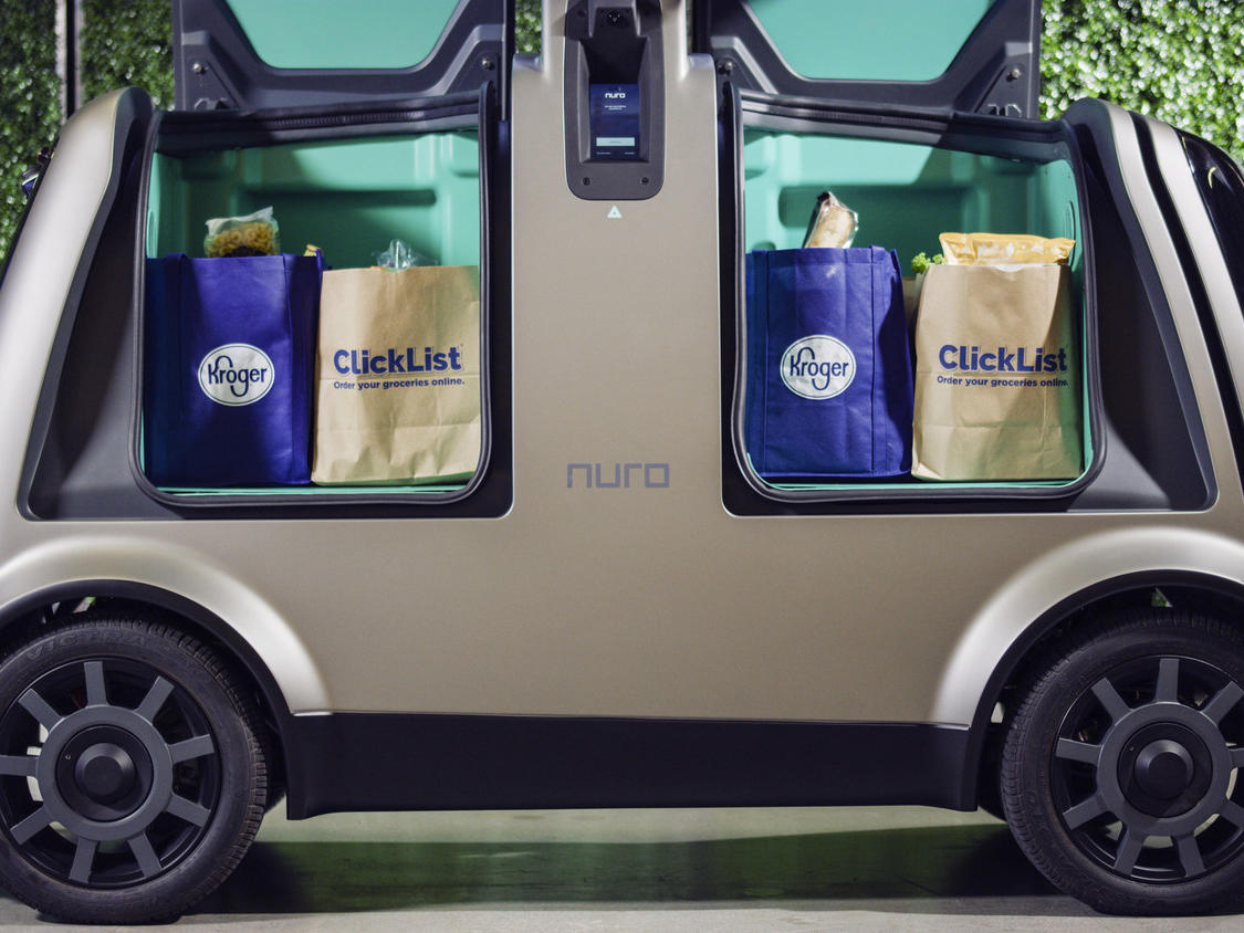 Kroger Will Soon Deliver Groceries From Driverless Cars