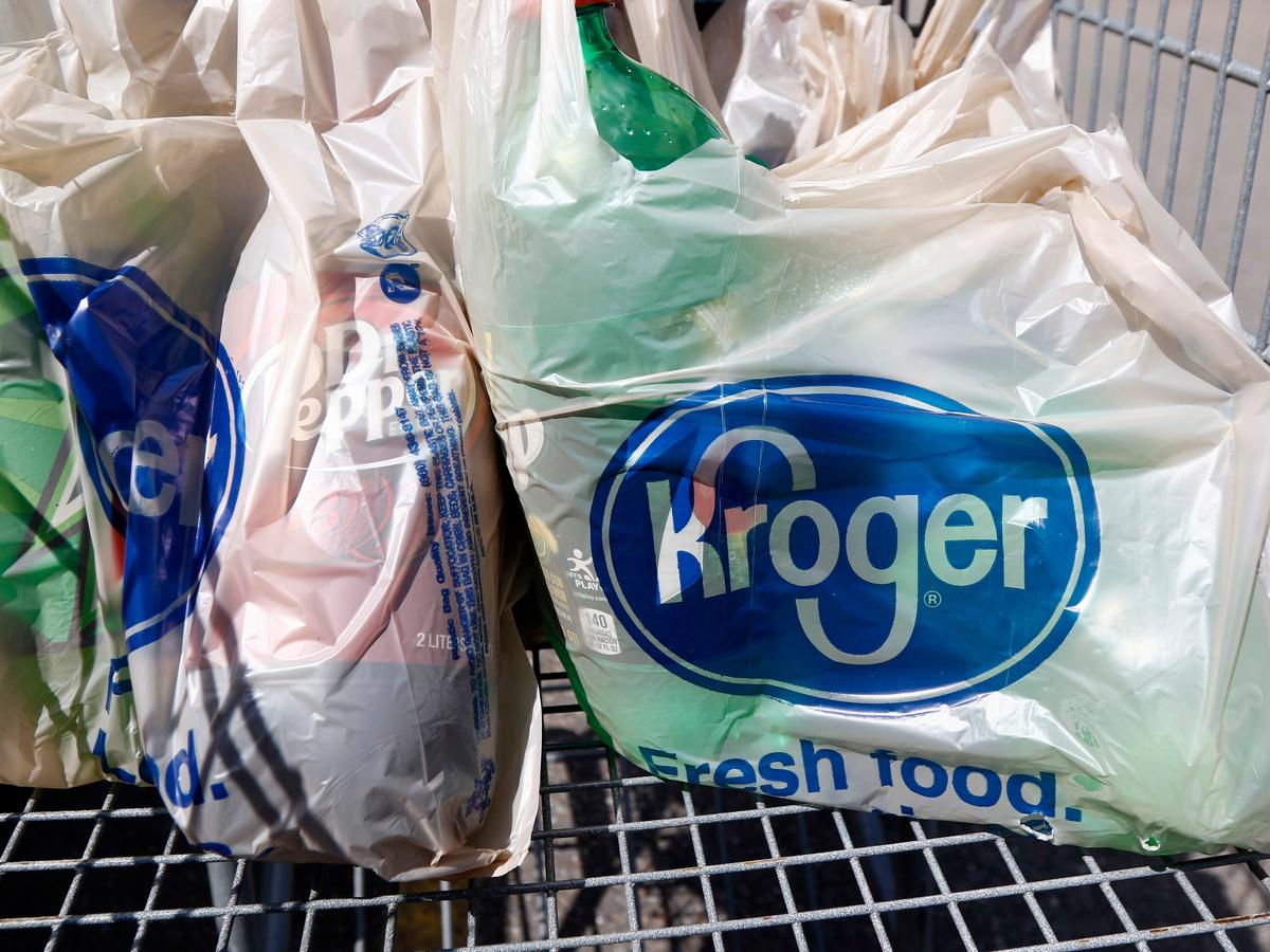 Kroger Will Eliminate Plastic Bags at Nearly All Stores by 2025
