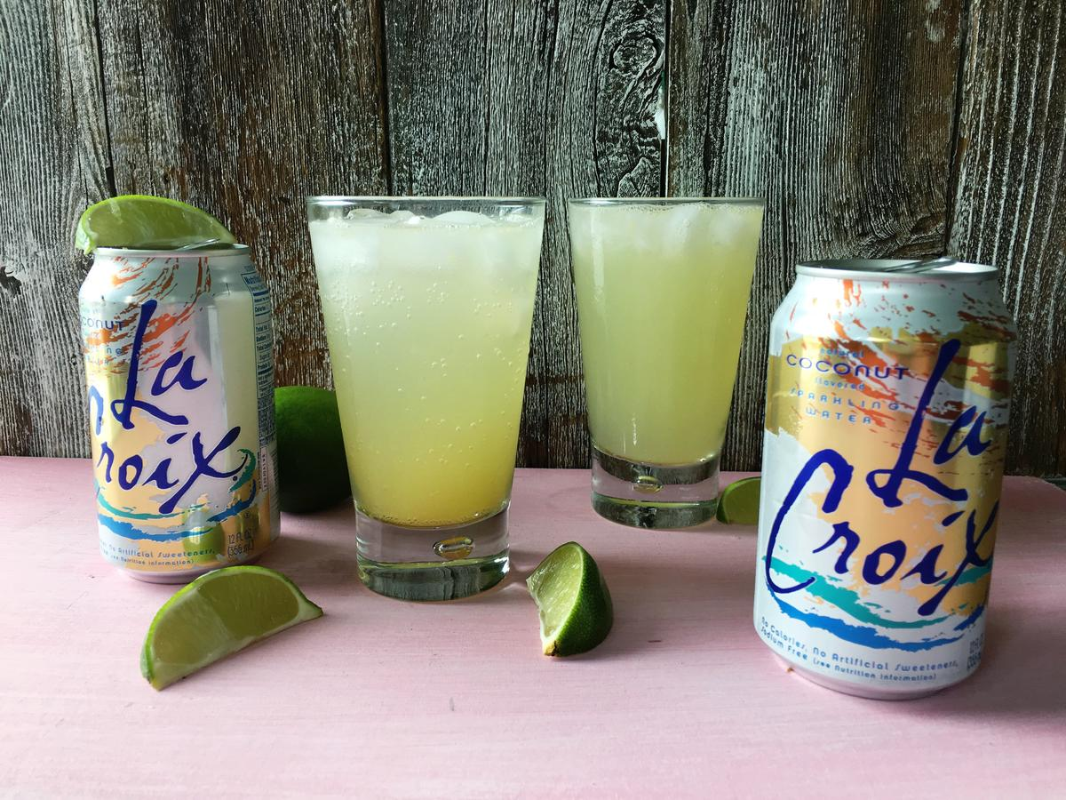 How to Make an Easy and Light Piña Colada Using Coconut La Croix