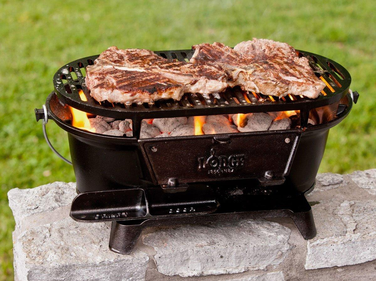 BUY IT: $94.28; amazon.com                       Our editor-in-chief Sid Evans gives this grill his stamp of approval for Southern tailgates.