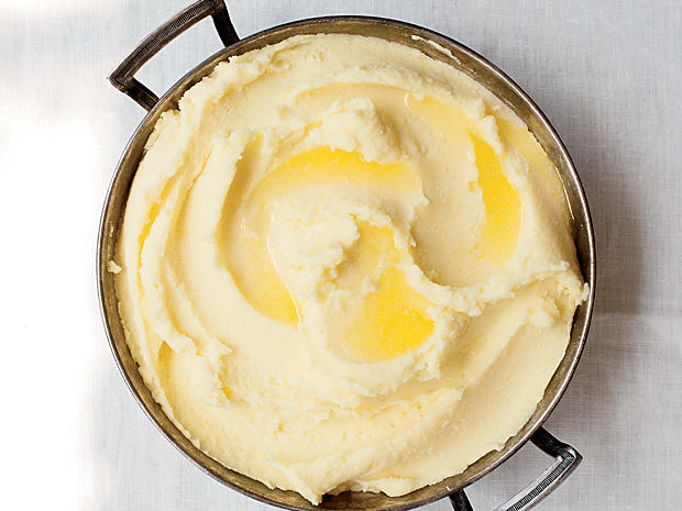 Mashed Potatoes, Kind of Bobuchon-Style
