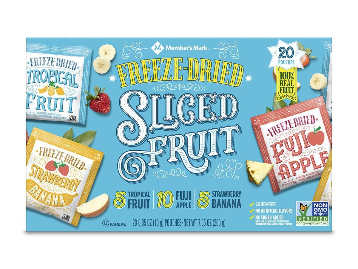 Member's Mark Freeze-Dried Fruit Snacks