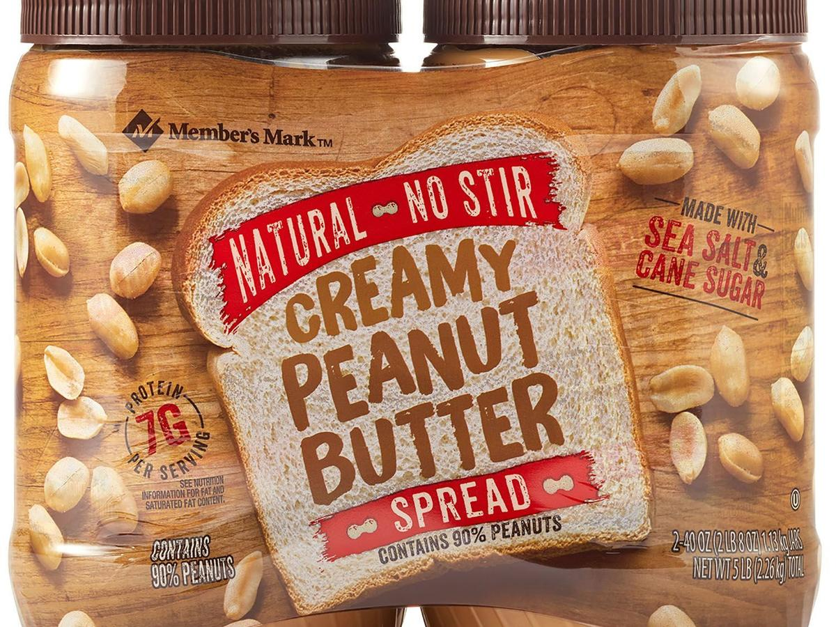 Member's Mark Natural No Stir Creamy Peanut Butter Spread