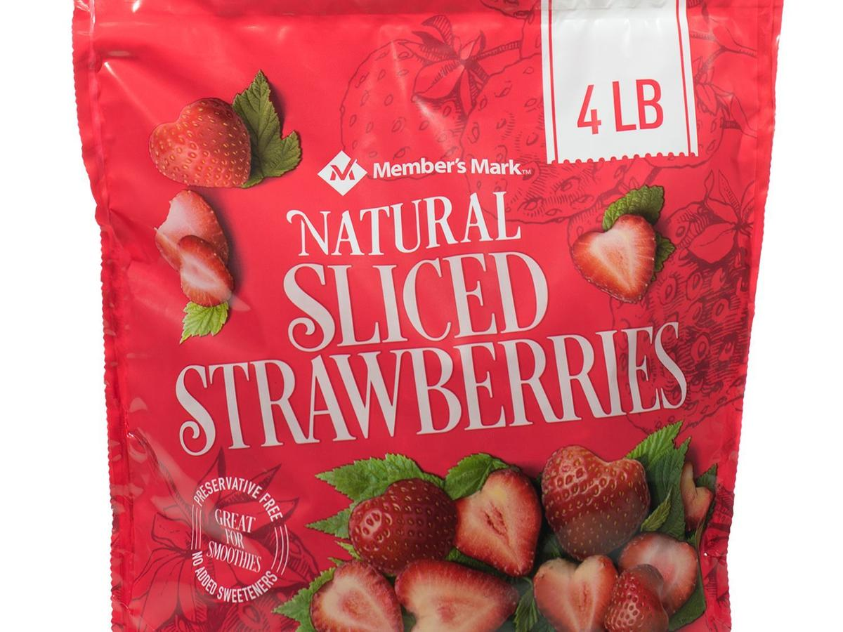 Member's Mark Natural Sliced Strawberries