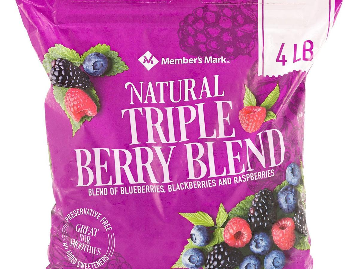 Member's Mark Natural Triple Berry Blend