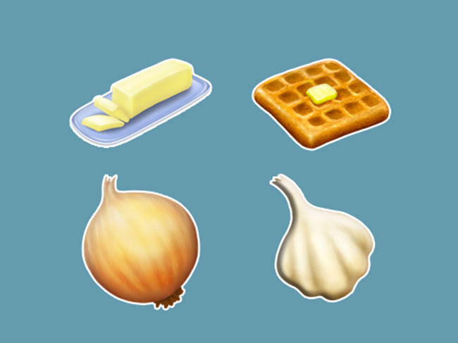 All the New Food Emojis for 2019
