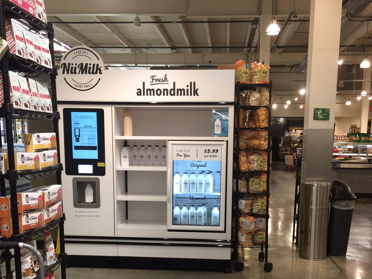 Freshly Squeezed Almond Milk Might Be Coming to a Grocery Store Near You