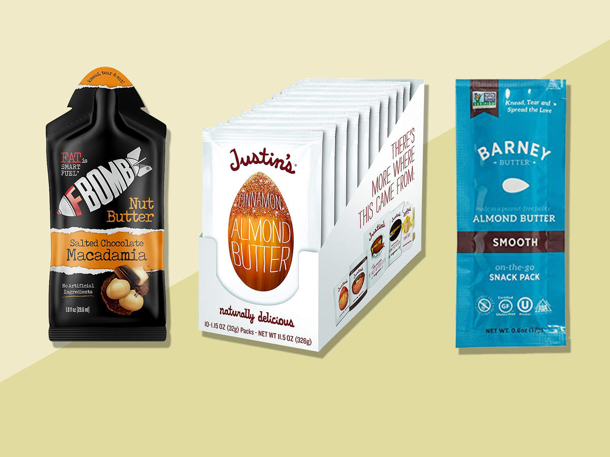 5 High-Protein Nut and Seed Butter Packs You Can Fit in Your Pocket