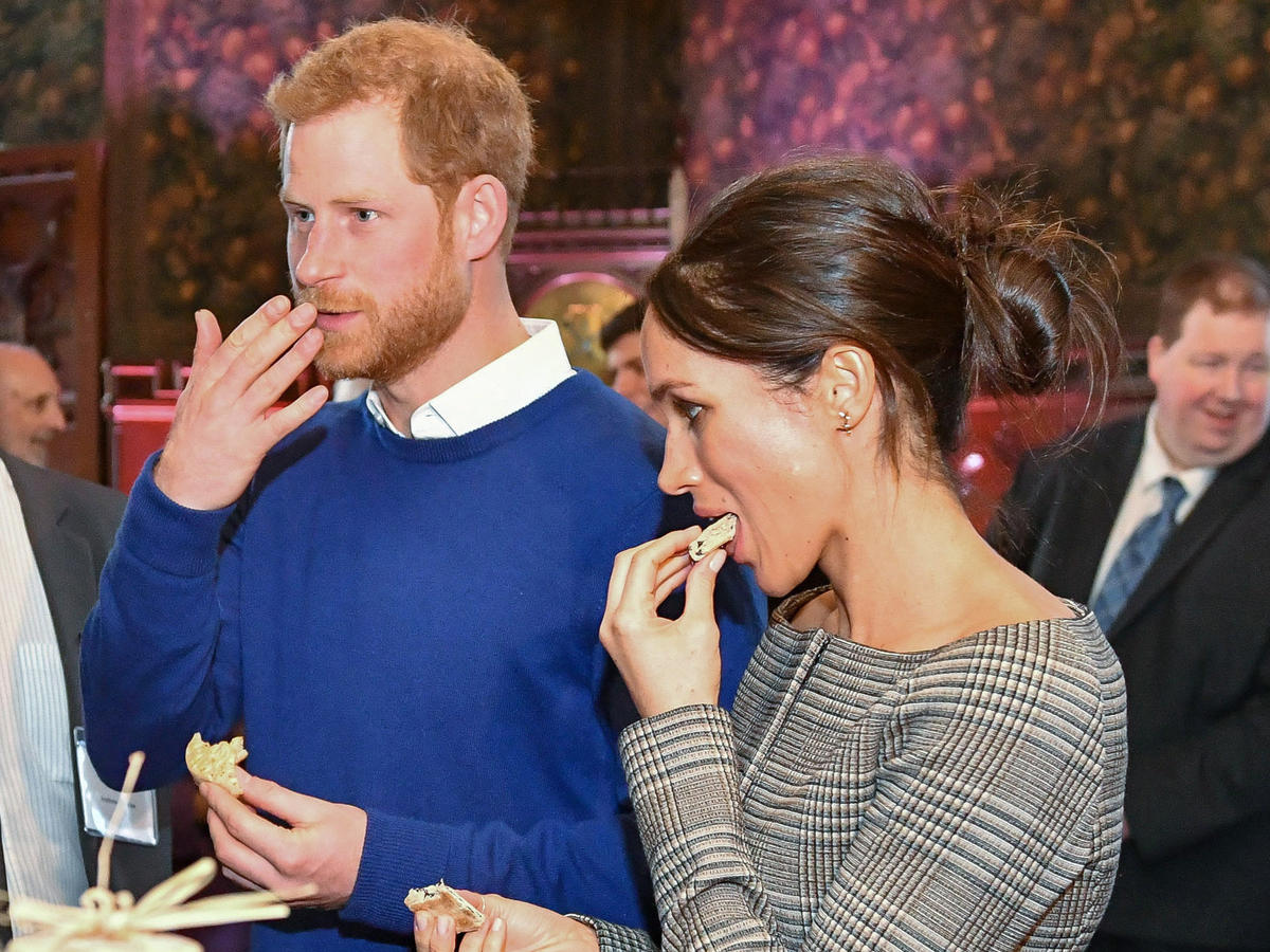 harry and meghan s windsor wedding lunch actually seems pretty