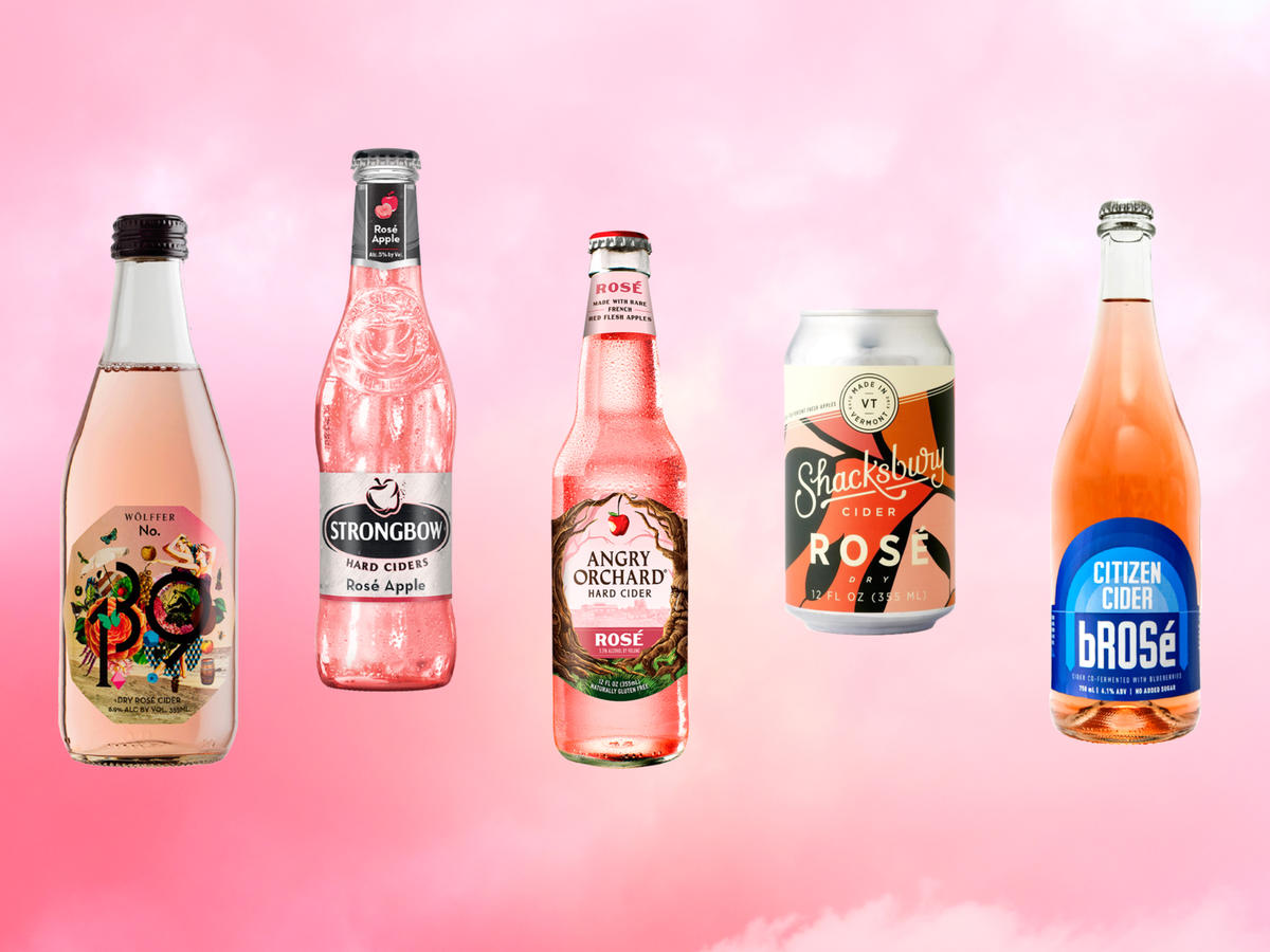 We Tried 9 Rosé Ciders—Here's How They Stacked Up