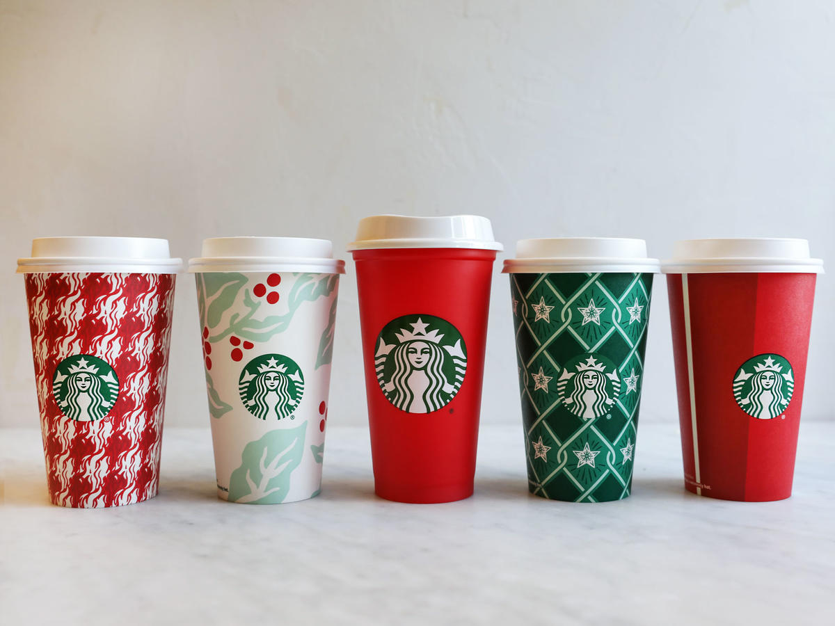 Starbucks' Holiday Cups Are Super-Festive (And One Is Reusable!)