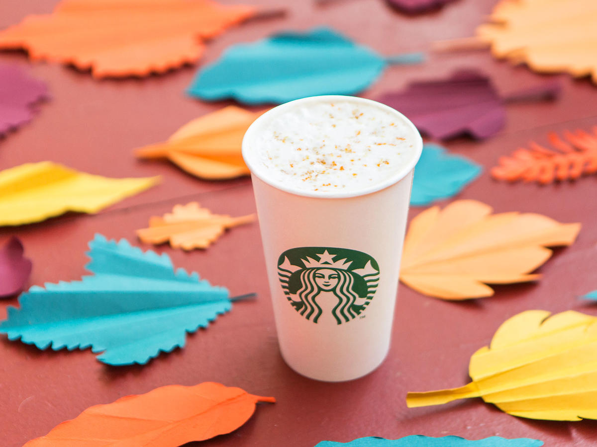 Starbucks Has a New Latte Flavor and Colorful Fall Cups