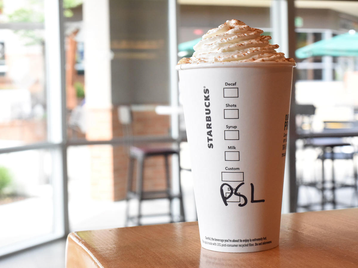 Starbucks Has a Hack for a (Slightly) Healthier Pumpkin Spice Latte