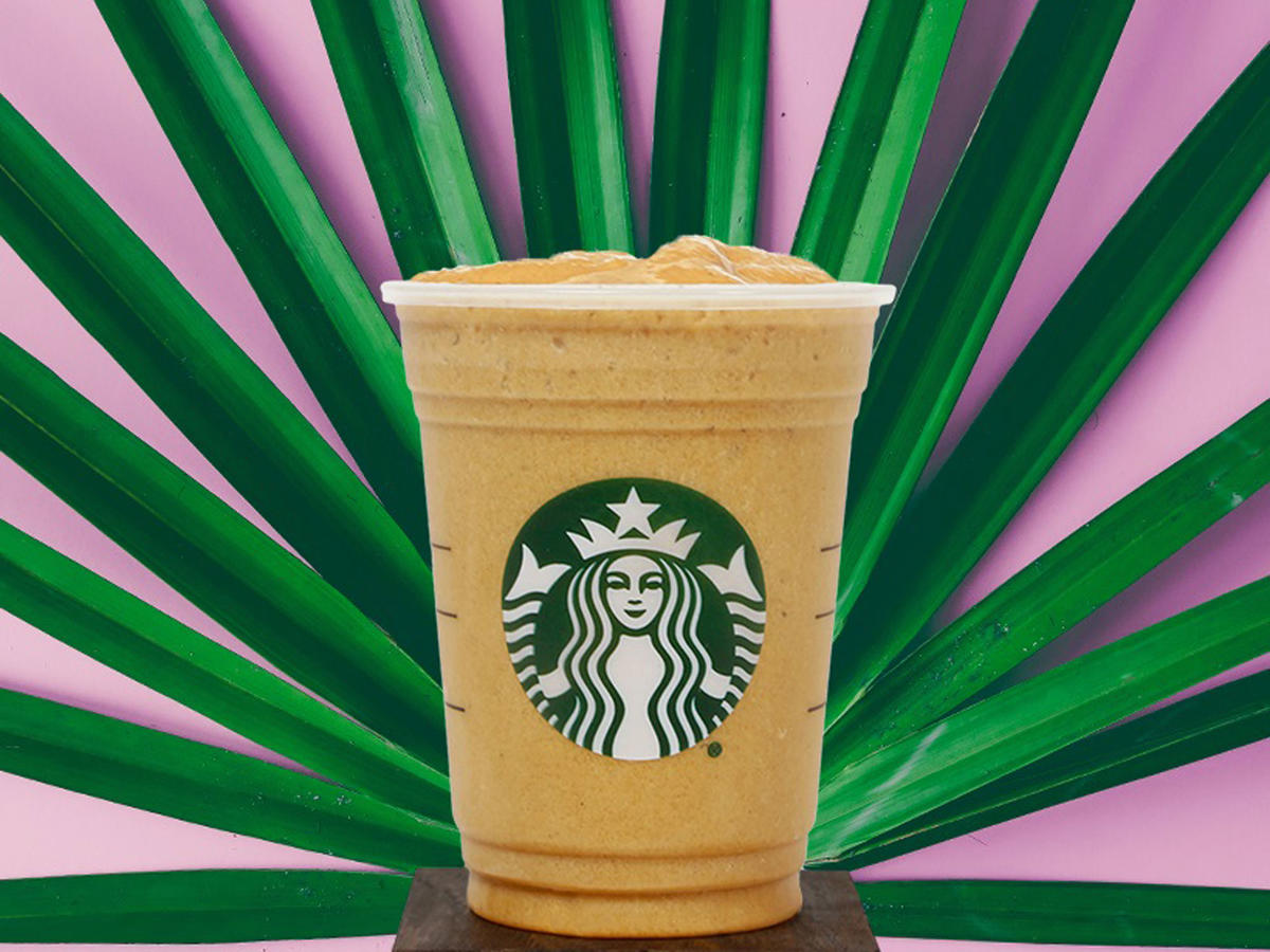 Starbucks' New Drink Is Just a Vegan Smoothie with Caffeine