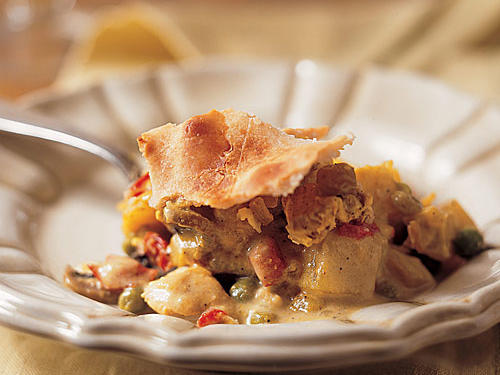 Curried-Chicken Potpie