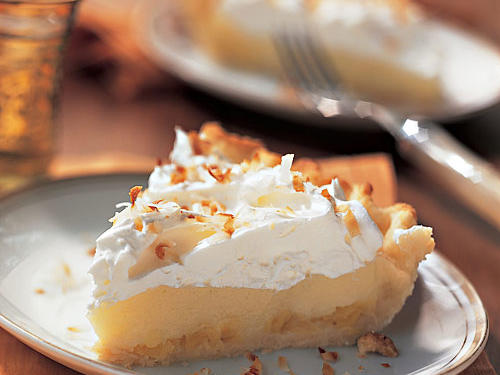 Coconut Cream Pie with Pineapple Recipe