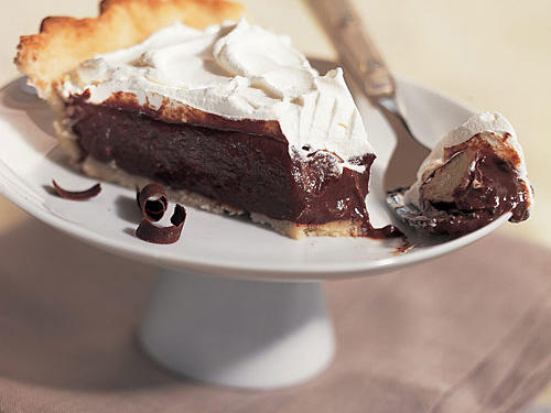 Double-Chocolate Cream Pie Recipe