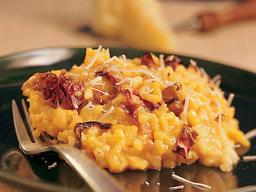 Healthy Winter Squash Risotto with Radicchio Recipe