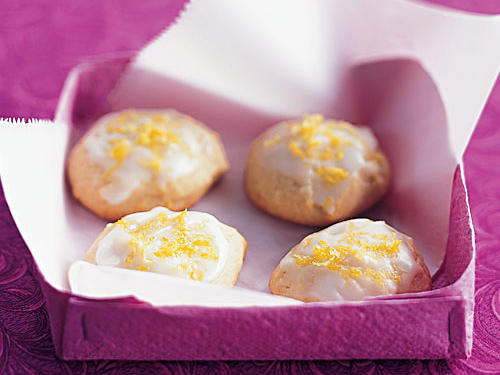 Lemon-Honey Drop Cookies Recipe