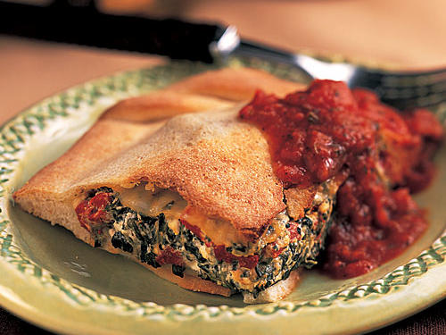 Spinach Calzone