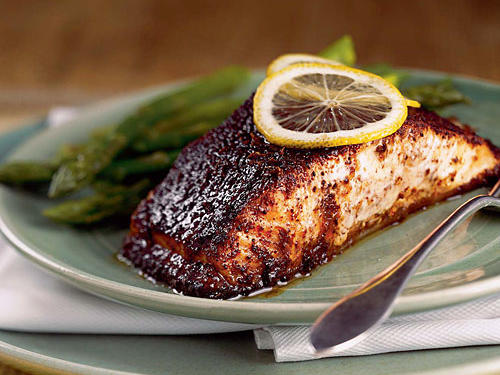 1998: Barbecue Roasted Salmon
