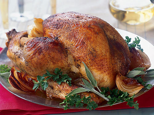 Dinner Tonight: Whole Roasted Turkey recipe