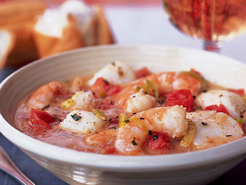 Spring Seafood Stew