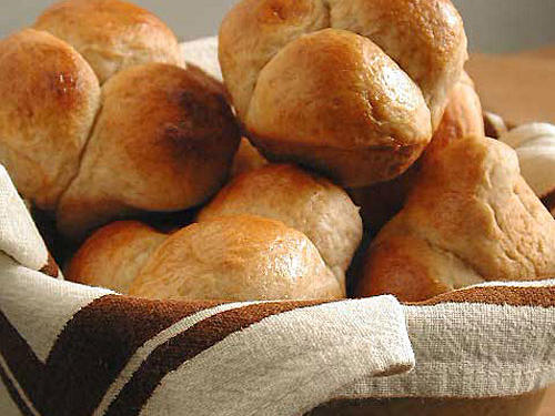 Fact: Beaten egg white, whole egg, or yolk is brushed onto dough before cooking for shiny baked goods, such as breads, rolls, and Danish pastries.Try it: A quick coating of egg wash just before baking gives these yeasty