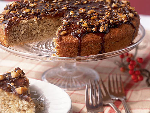 Banana Coffee Cake with Macadamia Nuts and Coconut