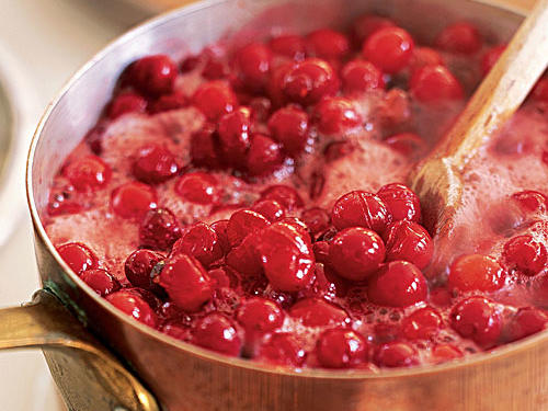 Cranberry Sauce with Apple Cider Recipe