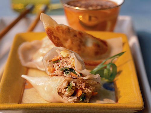Turkey pot stickers photo