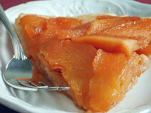 Quince Upside-Down Tart