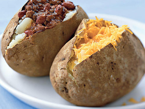 Take Two: Cheddar vs. Chili Baked Potato