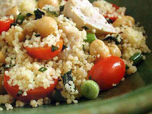 1009 Couscous Chicken Salad