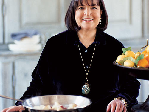 Ina Garten table talk with ina garten - cooking light