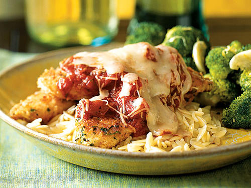 Herbed Chicken Parmesan Recipe