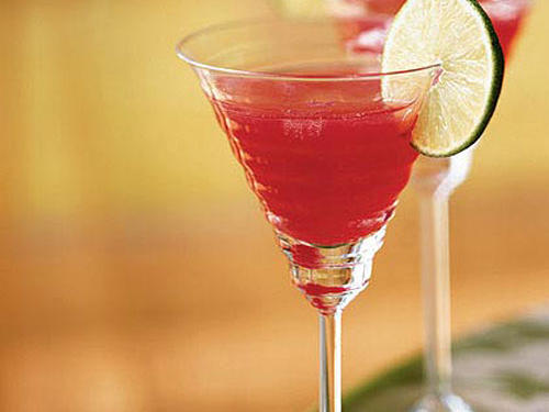 """You really have to think ahead of time with this recipe, but it makes a great gift, and it's actually really simple to make. I gave it to my sister a few years ago. It's great to give with a set of nice martini glasses and a decanter. You can even attach a cute recipe tag for cranberry martinis.""