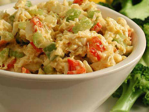 Curried Crab Spread