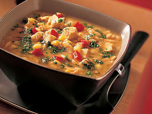 This white turkey chili is a tasty alternative to the traditional red chili and makes the perfect meal on a cold winter night. We recommend serving with Southern Cornbread.