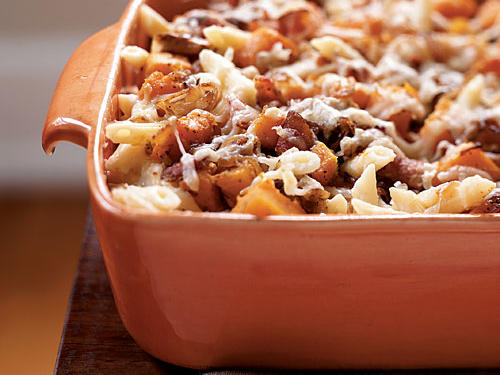 100 Pasta Recipes: Roasted Butternut Squash and Bacon Pasta