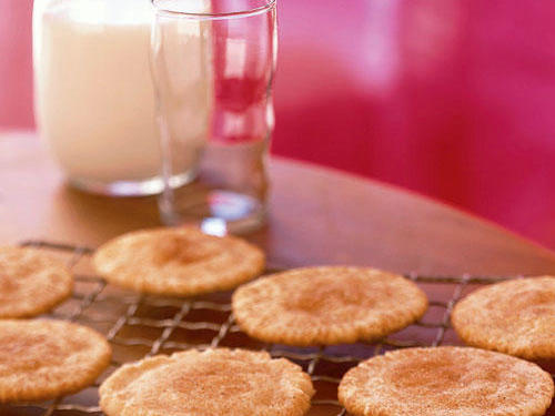 Sugar, spice, and everything nice, that's what these classic cookies are made of. If you're not already sold, these cookies are low in calories and easy to make.