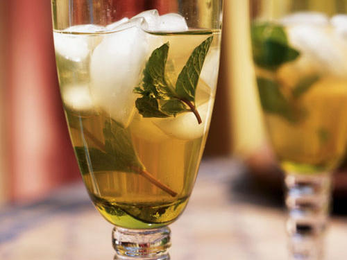 Iced Mint Tea
