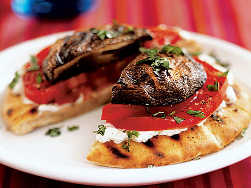 Every part of this dish―pita, tomato, eggplant (okay, not the goat cheese)―gets its turn on the grill, so smoky, seared flavor abounds. It's a great lunch or appetizer as-is, but you can turn it into a meal by adding sliced grilled chicken breast, steak, or pork.