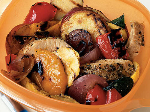 Top-Rated Vegetable Recipe: Pork and Grilled Vegetable Salad