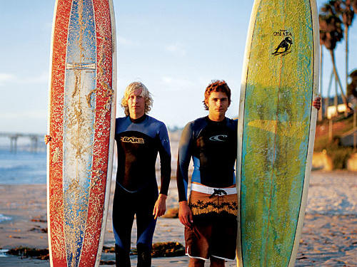 Surfing is just one activity for visitors to America's fittest city.
