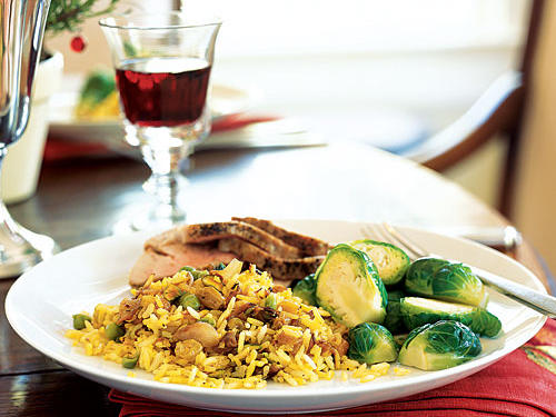 Fruited Basmati Pilaf with Pistachios